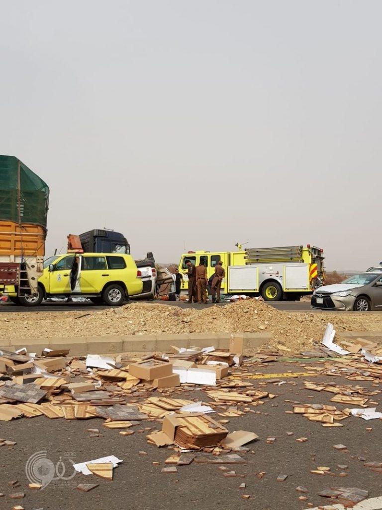 مستشفى بيش العام يستقبل 6 وفيات و4 إصابات ناتجة حادث طريق الدرب