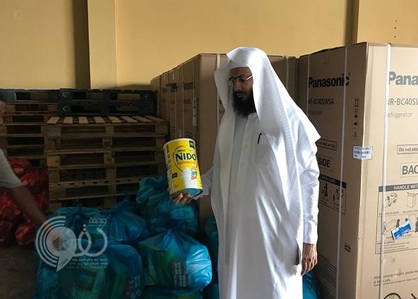جمعية البر بجازان توزع سلالًا غذائية وأجهزة كهربائية.. صور