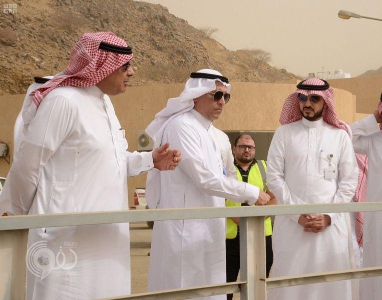 وكيل وزارة المياه يدشن مشروع محطات ضخ المياه لمركزي الحقو والفطيحة.. صور
