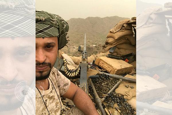 """استشهاد البطل """"عبدالله الأمير"""" بالحد الجنوبي في أول أيام عيد الأضحى"""