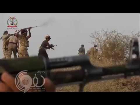 """شاهد لحظة تحرير الجيش اليمني لجبال """"فضحة"""" من الحوثيين"""
