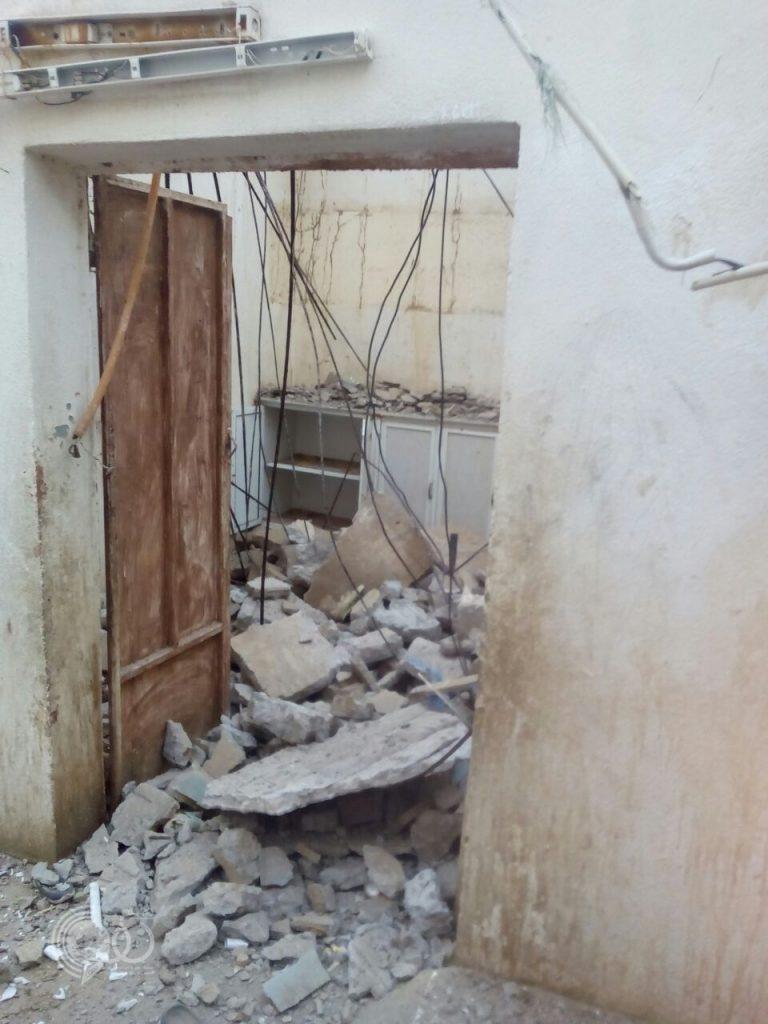 مركز الحقو : العناية الإلهية تُنقذ أسرة من الموت بعد سقوط سقف المطبخ بشكل مفاجيء – فيديو وصور