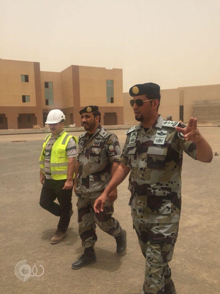 قائد طوارئ جازان يقف على مشروع تطوير المقرات..صور