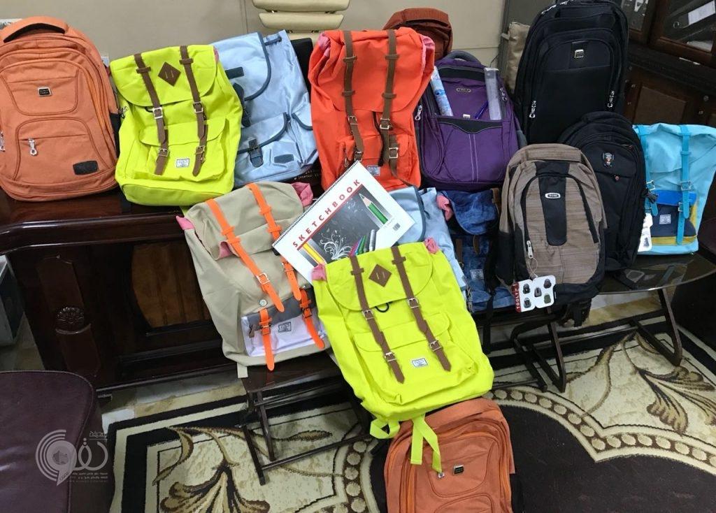 """""""بر بيش"""" تطلق مشروع الحقيبة المدرسية لـ (٨٠٠) طالب وطالبة.. صور"""
