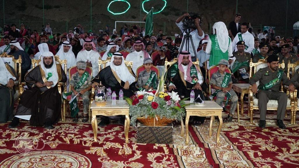 بلدية الريث تنظم إحتفال أهالي الريث بذكرى اليوم الوطني 88 – صور