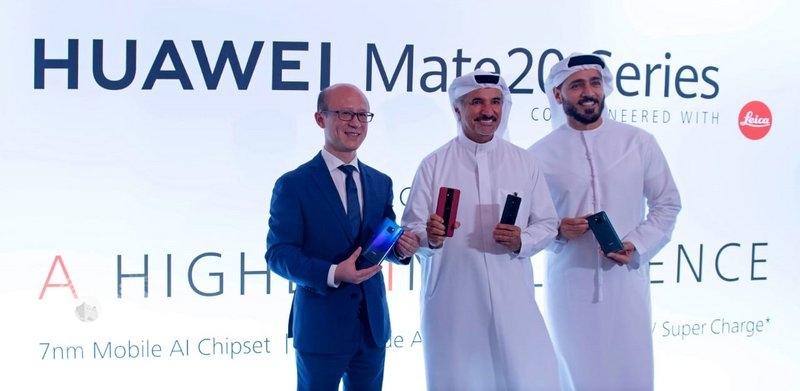 """""""هواوي"""" تطلق ملك الهواتف """"HUAWEI Mate20 Series"""" في الشرق الأوسط وأفريقيا"""