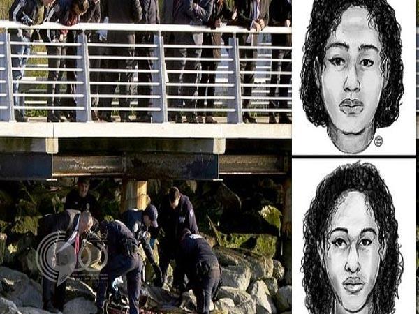 شاهد بالفيديو .. لحظة انتشال جثتي الفتاتين السعوديتين من نهر هدسون بأمريكا