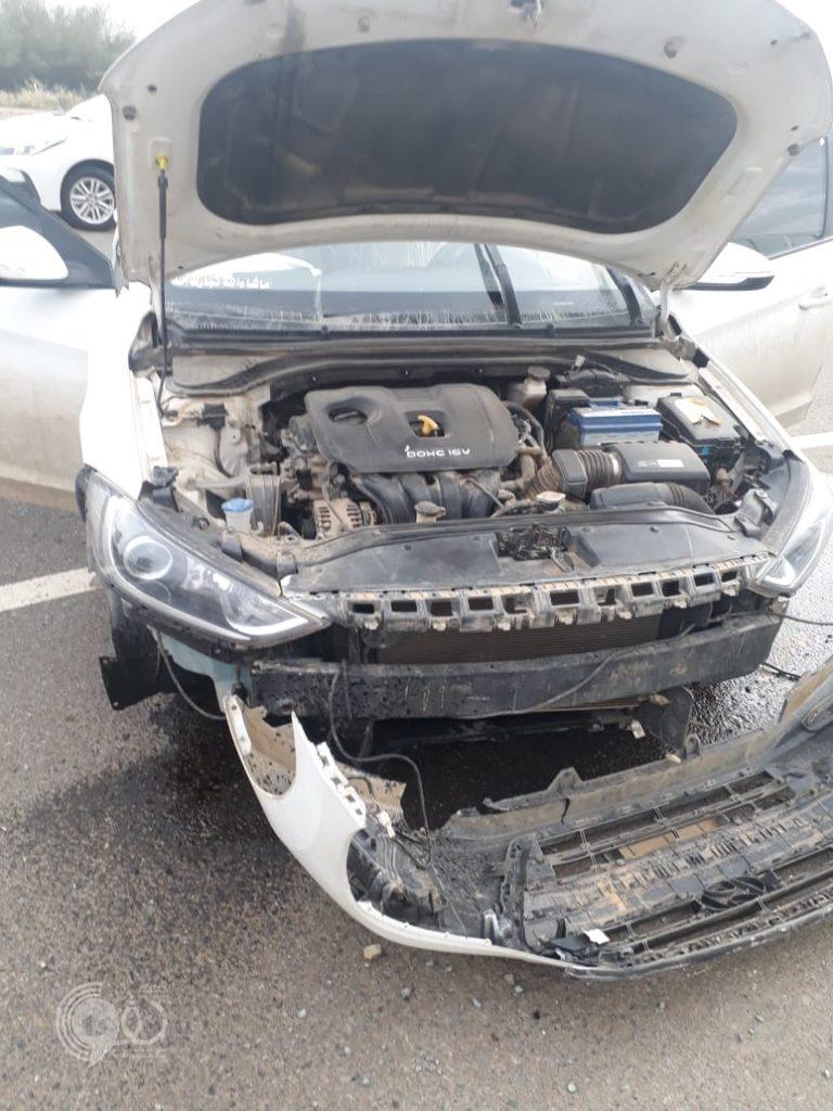 """عاجل .. حادث مروري على طريق """"الحقو – الريث"""" ولا إصابات – صور"""