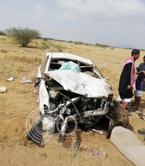 مصرع وإصابة ثلاثة طلاب في حادثة مرورية مروعة بجازان