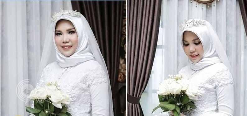 لماذا أصرت هذه العروس على ارتداء فستان زفافها رغم علمها بعدم حضور خطيبها؟!