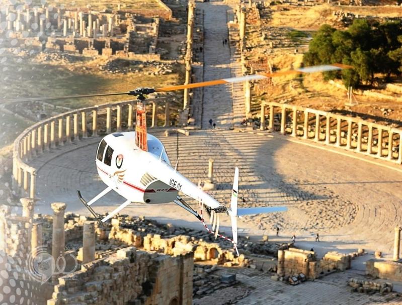 بالفيديو.. التاكسي الطائر يحلق في سماء الأردن