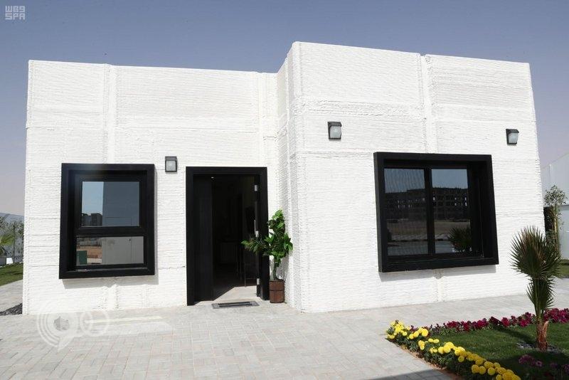 بناء أول منزل D3 في الشرق الأوسط بالمملكة.. فيديو وصور