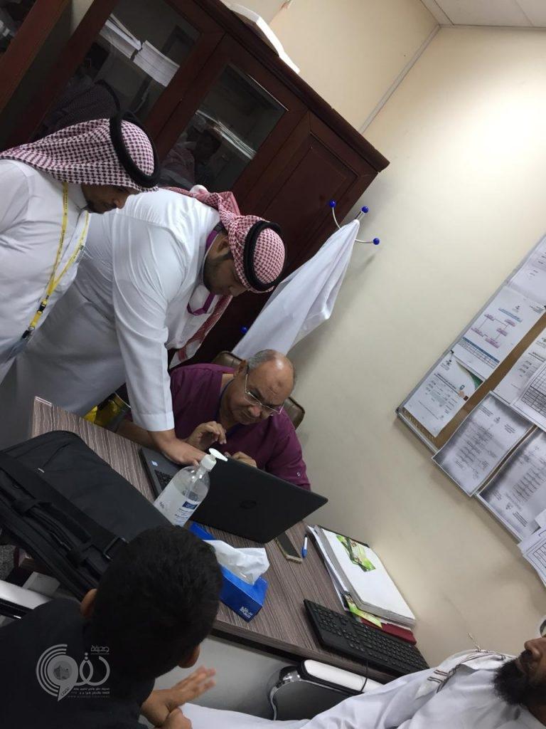 محافظة بيش : إدارة شؤون المراكز الصحية بالقطاع الشمالي تدشن نظام (His ).. صور