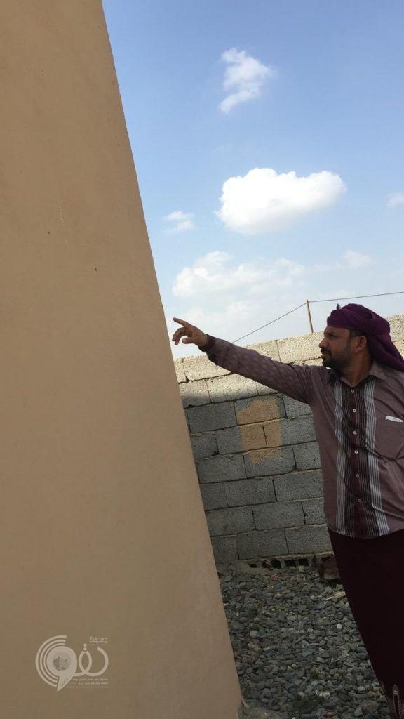 مركز الفطيحة : مجهولون يُطلقون النار على منزل مواطن والجهات الأمنية تُباشر الحادث – صور