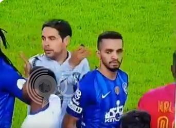 ماذا أخرج طبيب الهلال من ظهر البريك عقب مباراة النصر؟.. (فيديو)