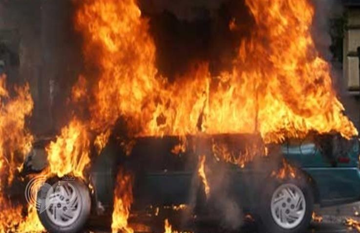 رجل يشعل النيران في سيارة زوجته الجديدة بحائل.. والكشف عن السبب!