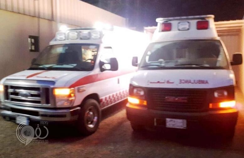 مصرع 3 أشخاص وإصابة اثنين في حادث انقلاب سيارة بجازان