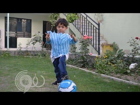 """كيف تحول الطفل """"ميسي"""" الذي خطف أنظار العالم إلى أشهر طفل مطلوب لحركة طالبان الإرهابية ؟- فيديو"""