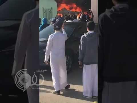 شاهد.. لحظة أشتعال النيران في مدارس بالرياض.. وهكذا جاءت ردة فعل الطلاب!