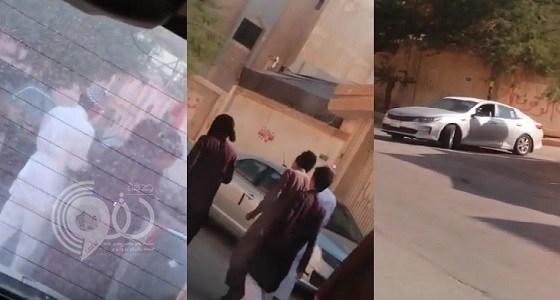 شاهد بالفيديو.. حقيقة محاولة خطف شاب في نسيم الرياض