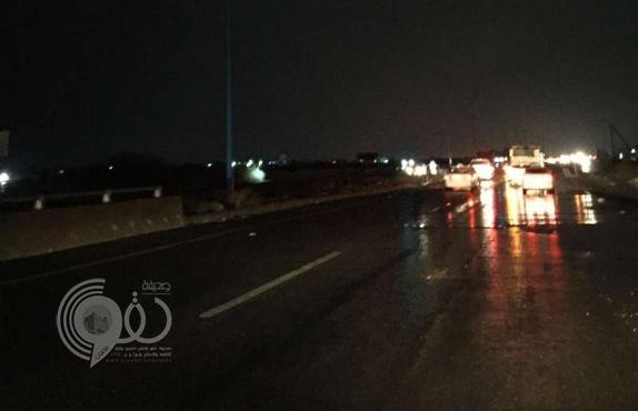 العثور على شخص متوفى بعد 6 أيام من اختفائه في سيل وادي شهدان بجازان