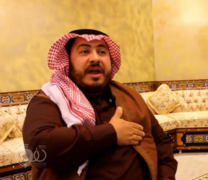 شاهد.. مقيم مصري يتقن لهجة أهل الشمال ويبدع في إلقاء الشعر النبطي