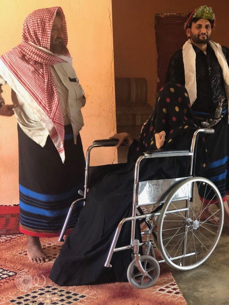 """""""محافظة الريث"""": مرض غامض يشل """" لاحقة الريثي"""" بعد هجر زوجها.. صور"""