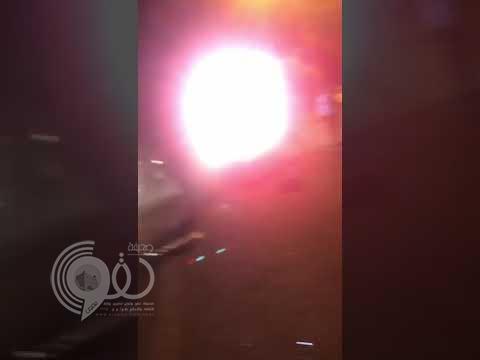 مصرع سائق وانشطار السيارة في حادثٍ مروريٍ مروع على طريق المسارحة- جازان