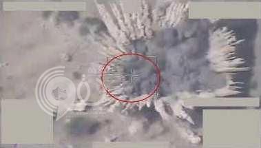 بالفيديو.. التحالف يستهدف عربات وأسلحة حوثية في صعدة