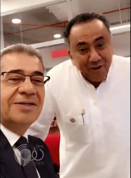 حوار طريف على الهواء بين عبدالعزيز الدغيثر ومصطفى الآغا عن تعدد الزوجات (فيديو)