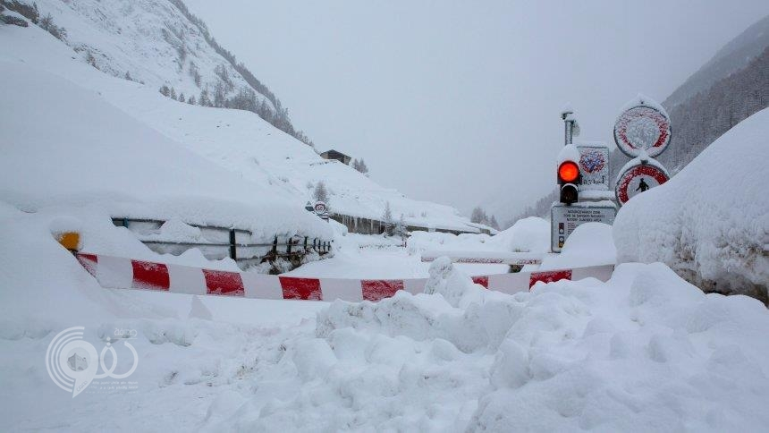 مصرع خمسة أشخاص وفقدان اثنين بسبب تساقط الثلوج الكثيفة في النمسا