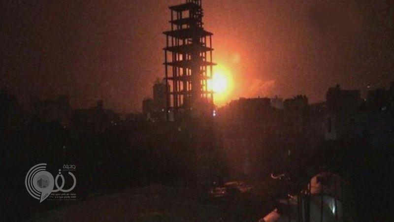 انفجارات عنيفة تهز صنعاء.. وغارات مكثفة يشنها التحالف