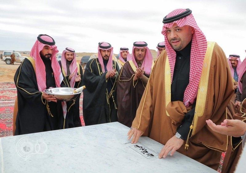 """فيصل بن خالد يضع حجر الأساس لوحدة بيطرية نموذجية في """"الشمالية"""""""