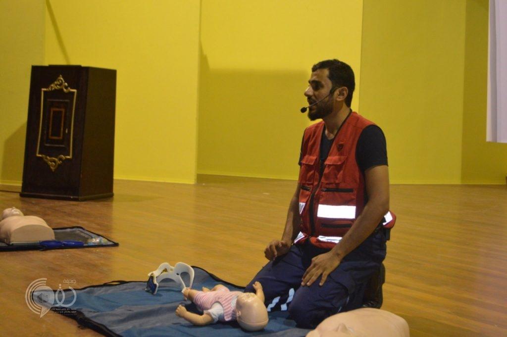 مجلس إدارة فريق سواعد جازان للبحث والانقاذ ينظم دورة تدريبيه بعنوان (مبادئ الإسعافات الأولية)