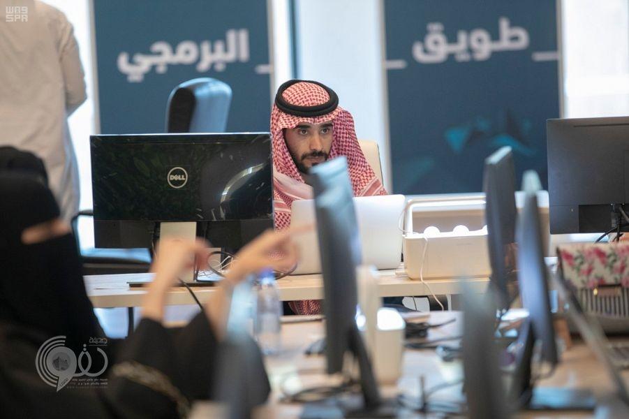 انطلاق أعمال معسكر طويق البرمجي في الرياض بمشاركة النخبة