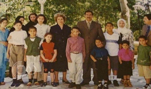 لأول مرة.. 10 صور شخصية لعائلة صدام حسين