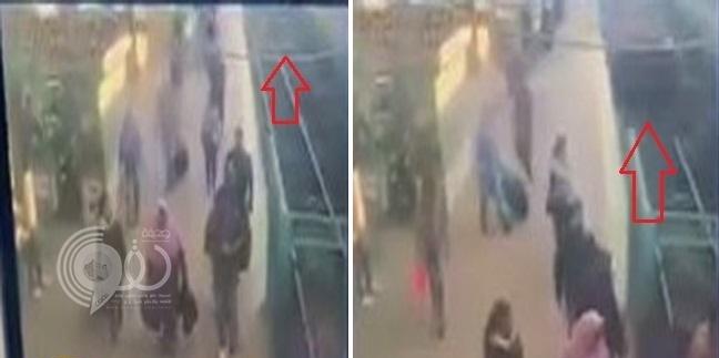 شاهد بالفيديو.. لحظة اصطدام قطار رمسيس برصيف المحطة وانفجاره