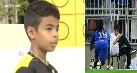 بالفيديو.. الطفل فيصل الغامدي يكشف سبب خوفه من غوميز