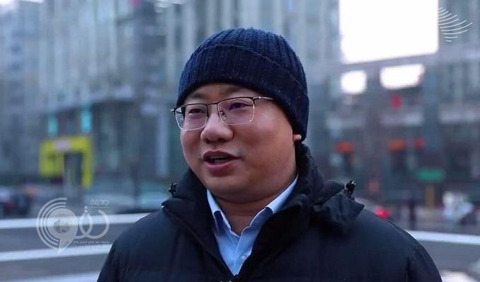 """بالفيديو.. شاهد """"صيني"""" يوجه رسالة للأمير محمد بن سلمان باللغة العربية"""