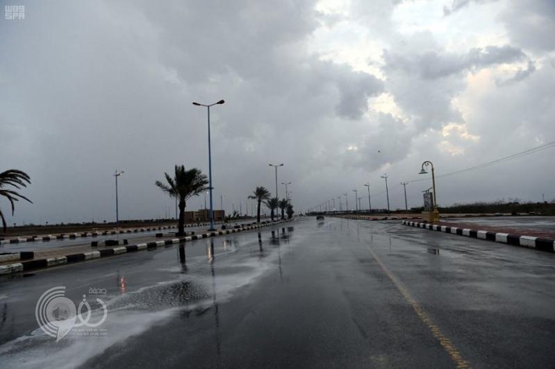 """"""" الأرصاد """" تحذر من هطول أمطار رعدية على جازان"""