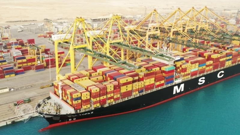 بسعة 4.3 مليون حاوية.. ميناء الملك عبدالله أحد أكبر مشروعات تنفيذ رؤية محمد بن سلمان