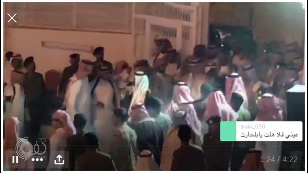 """بالفيديو.. شفاعة أمير عسير تنقذ رقبتين من القصاص في """"ترج بيشة"""""""