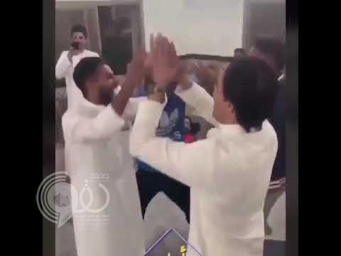 """شاهد: ردة فعل مشجعي النصر بـ""""الكويت"""" بعد الهدف القاتل ضد الهلال!"""