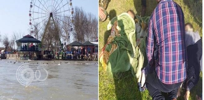 بالفيديو.. انقلاب عبارة في نهر دجلة بالعراق ووفاة أكثر من 66 شخصا