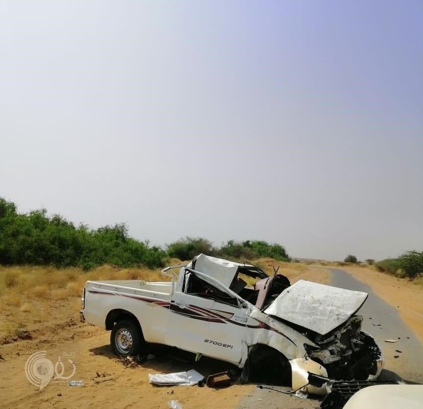 """حادث إنقلاب على طريق """"الفطيحة – مسلية"""" يصرع الشاب """"عبدالعزيز"""" – صورة"""