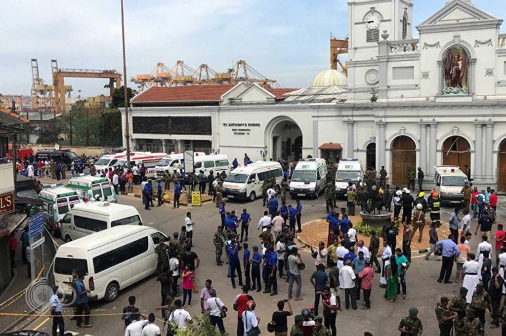 إصابة مضيفة بالخطوط السعودية في انفجارات سريلانكا