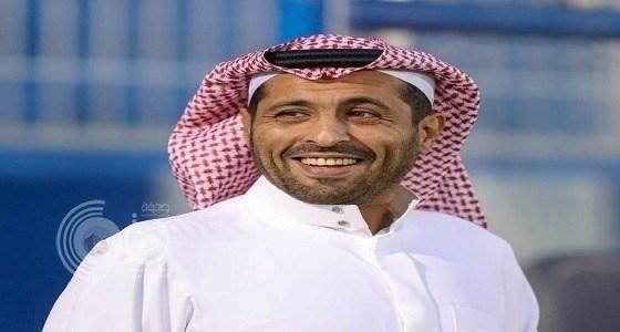"""بالفيديو.. الأمير محمد بن فيصل: مهاجم النصر """" ممنوع اللمس """" ولا يوجد """" فيران بل جرابيع """""""