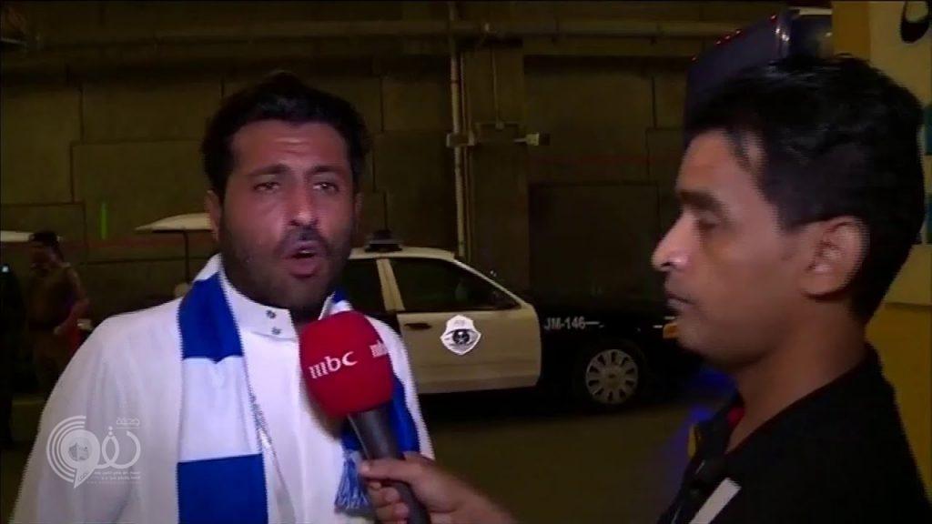 """شاهد.. محمد بن فيصل يخرج عن شعوره ويفتح النار على رئيس لجنة التحكيم بسبب """"الفار"""""""