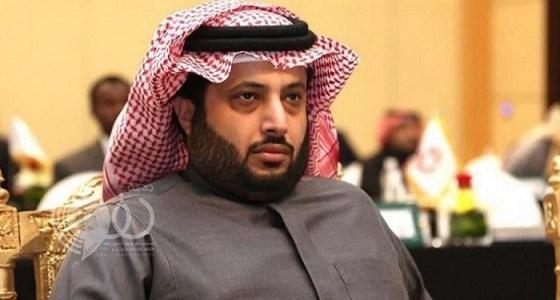 """تركي آل الشيخ يروي حكاية رئيس نادي بياع """" فجل """""""
