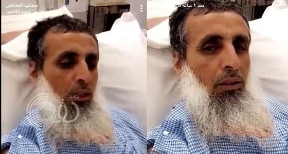 بالفيديو.. شخص يطعن إمام وخطيب مسجد بالنماص